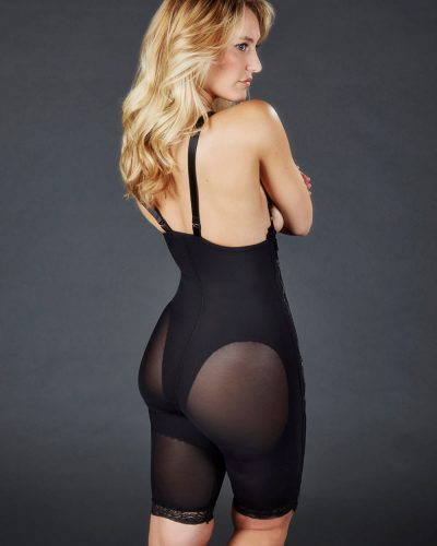 Caromed 4-4012 Above-the-Knee Suspendered Girdle-Powerknit