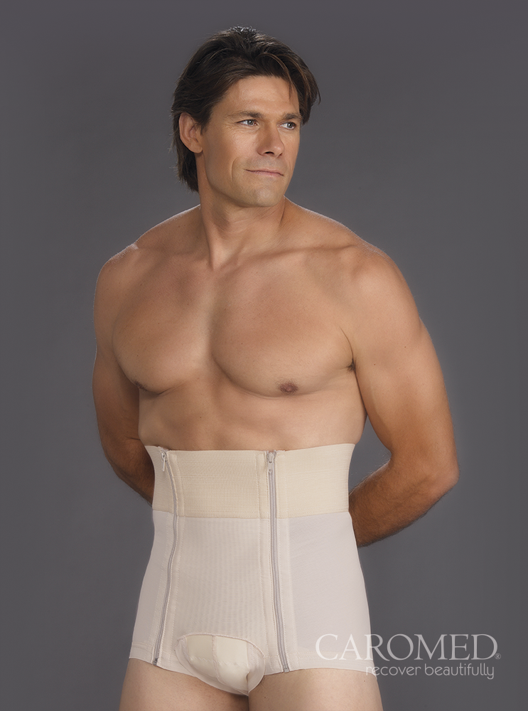 Caromed 3-9000 Male Abdominoplasty Garment
