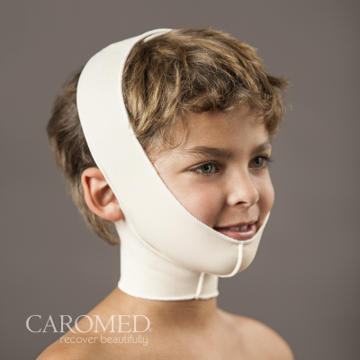 Caromed 6-8006 Pediatric Chin-Neck – Front WM