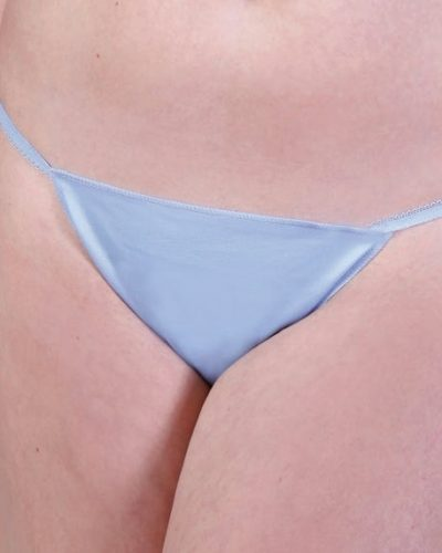 Caromed 7-8500B Female Blue Full Seat Disposable Photo Panties (50/bag)