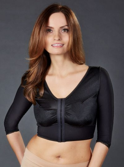 SC-495 Sculptures Female Bra Vest with Sleeves